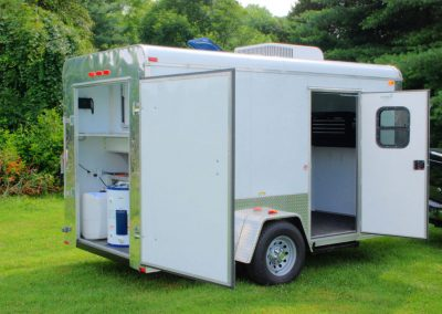 Pet Grooming Trailer - Outside